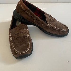 Eastland suede loafers